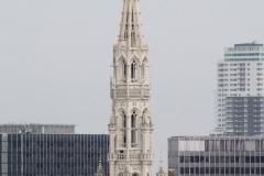 Brussel-2014-0500-Stadhuis-vanaf-Poelaertplein